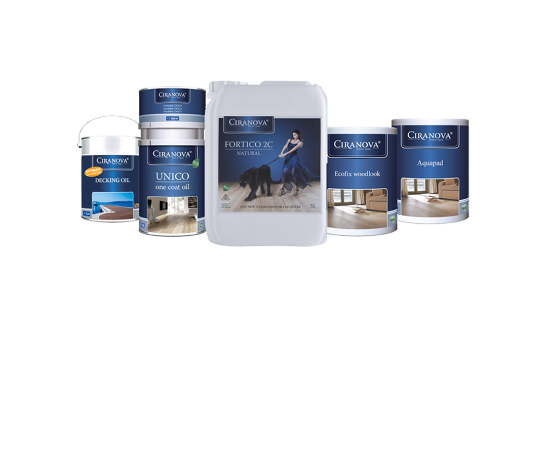 PROUDLY OFFERING CIRANOVA PRODUCTS